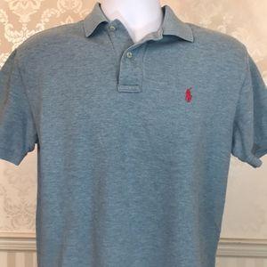 Men's Ralph Lauren Polo Shirt in Light Blue